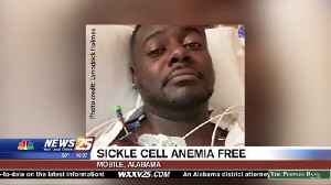 Alabama man cured of sickle cell anemia [Video]