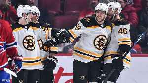 David Pastrank collects sixth career hatty in Bruins' rout [Video]
