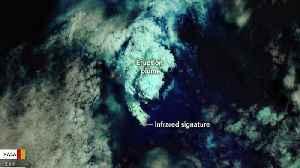 Satellite Spots A Brand New Island After Undersea Eruption [Video]