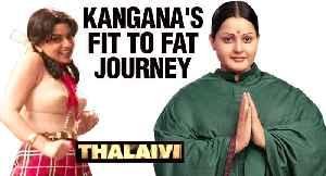 Kangana Ranaut CONSUMED Hormone Pills To Get Jayalalitha's Look In Thalaivi [Video]