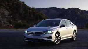 2020 Volkswagen Passat SEL Premium in Reflex Silver Exterior Design [Video]