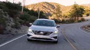 2020 Volkswagen Passat SEL Premium in Reflex Silver Driving Video [Video]