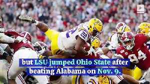 Ohio State Jumps LSU for No. 1 in Latest College Football Playoff Rankings [Video]