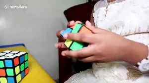 Meet 6-year-old Sarah, the 'world's youngest genius' who solves Rubik's Cubes blindfolded [Video]