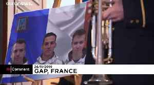 France pays tribute to 13 soldiers killed in Mali
