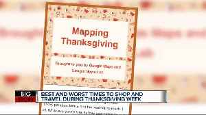 When's the best time to travel or shop for the holiday? Google's Mapping Thanksgiving has the answers [Video]