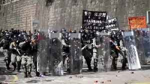 No protesters found in Hong Kong university search as clean up begins [Video]