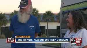 Good Samaritans on PSTA bus help fellow rider clean his home [Video]