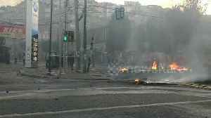 Chilean protesters clash with police in Valparaiso [Video]