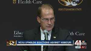 News video: No bowl for Mizzou, NCAA upholds ban and other sanctions