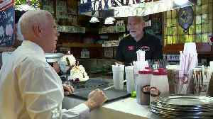 WEB EXTRA: VP Mike Pence Makes Stop In Dania Beach [Video]