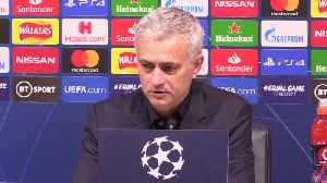 Mourinho apologises to Eric Dier over midfielder's first-half substitution [Video]