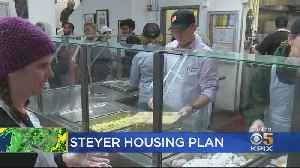 Presidential Candidate Tom Steyer Serves Breakfast, Discusses Housing Plan In San Francisco [Video]