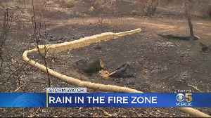 Bay Area Storm Leads To Flash Flood Watch For Kincade Fire Burn Zone [Video]