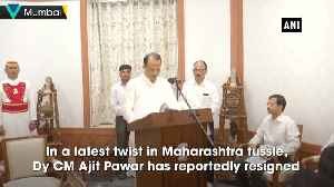Ajit Pawar resigned as Dy CM, he is with us' Sanjay Raut [Video]