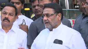 NCP-Shiv Sena-Congress alliance will last long, this is start of BJP end Nawab Malik [Video]