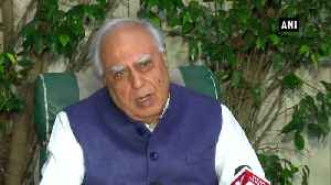 PM Modi HM Shah responsible for continuous attack on Constitution Sibal [Video]