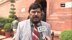 News video: Respect SC's order of carrying out floor test tomorrow Ramdas Athawale