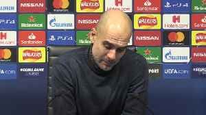 Guardiola delighted as Man City progress [Video]