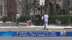 Elizabeth Ends E-Scooter Program [Video]