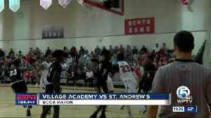 St. Andrew's defeats Village Academy 11/26 [Video]