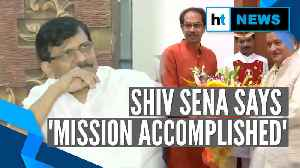 Sanjay Raut says mission accomplished; BJP says SC order changed everything [Video]