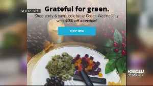 'Green Wednesday' Aims To Cash In On Cannabis Deals Before Thanksgiving [Video]