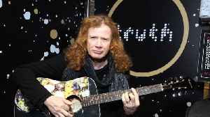 Dave Mustaine feeling great after cancer treatment [Video]