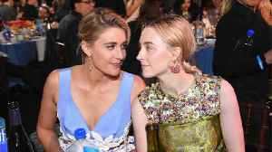 Saoirse Ronan told Greta Gerwig she would be playing lead role in 'Little Women' [Video]