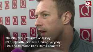 Coldplay 'still in hibernation mode' after four year break [Video]