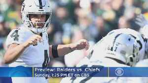 Raiders And Chiefs Battle For AFC West Lead [Video]