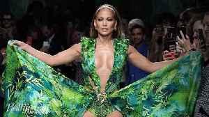 Versace Sues Fashion Nova Over Knockoff Jennifer Lopez Grammys Dress | THR News [Video]