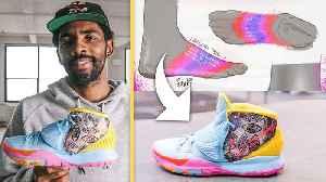 Kyrie Irving Breaks Down His Custom In-Game Sneakers [Video]