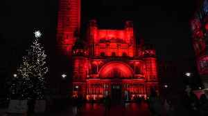 Westminster Cathedral and other UK landmarks lit red to honour religious freedom [Video]