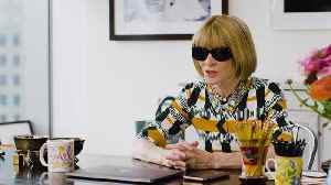 News video: Anna Wintour Shares Her Best Entertaining Tips, Favorite Holiday Traditions, and the Worst Gift She's Ever Received
