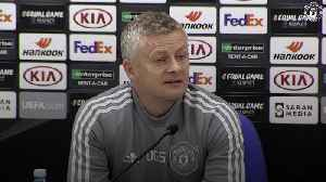 Solskjaer to debut youngsters in Europa League game against Astana [Video]