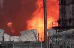 Texas chemical plant continues to burn after major explosion [Video]