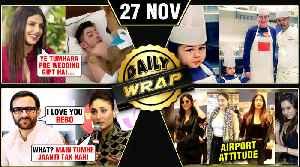 Priyanka's Gift To Nick, Taimur Kareena Turn Chef, Kareena Rejected Saif's Proposal | Top 10 News [Video]