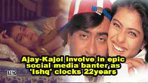 News video: Ajay-Kajol involve in epic social media banter as 'Ishq' clocks 22years