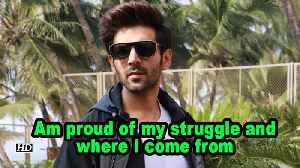 Kartik Aaryan: Am proud of my struggle and where I come from [Video]