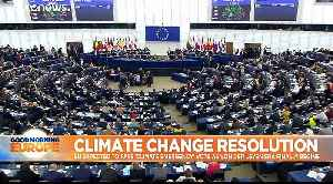 MEPs back 'climate emergency' resolution to push for more aggressive action - 429 votes to 225 [Video]