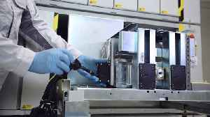 """Battery cell production at Volkswagen Salzgitter, production step """"cell conditioning"""" [Video]"""