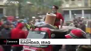 Twenty-seven Iraqi protesters killed in a day as violence continues [Video]