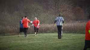 Meadows Turkey Bowl football game tradition to raise money for girl with cancer [Video]
