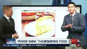 Power Rank: Thanksgiving Foods [Video]