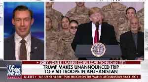 News video: BREAKING: Trump Makes Surprise Visit To Troops In Afghanistan