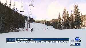 What to expect for Thanksgiving weekend skiing and snowboarding in Colorado [Video]