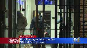 Fire Breaks Out In Mosque On Stony Island Ave. [Video]