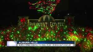 'Our Dancing Lights' in Auburn Hills won't return this year over disagreement with HOA [Video]