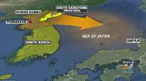 South Korea: North Korea Fires Two Short-Range Missiles Toward Japan [Video]